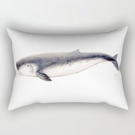Pygmy sperm whale Rectangular Pillow