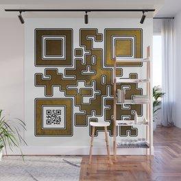 Respect Is Golden QR Code Wall Mural