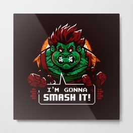 Gonna Smash It! Metal Print