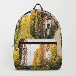 Autumn - New York City - East Village Garden Backpack