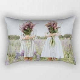 Lavander girls Rectangular Pillow