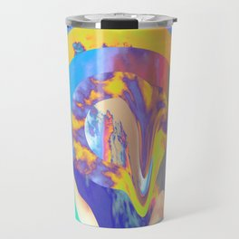 Psychedelic Clouds Travel Mug