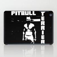 pitbull iPad Cases featuring Zef Pitbull by Jera Sky