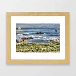 PacifIc Framed Art Print
