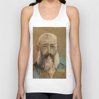 monet Tank Tops featuring 50 Artists: Claude Monet by Chad Beroth