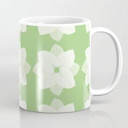 Colocasia Leaf Flower Vector Pattern Coffee Mug