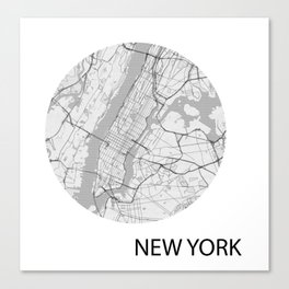 WANDER LUST-NEW YORK Canvas Print