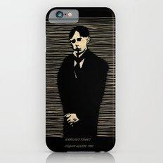 Poe woodcut print Slim Case iPhone 6s