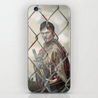 walking dead iPhone & iPod Skins featuring The Walking Dead by ketizoloto