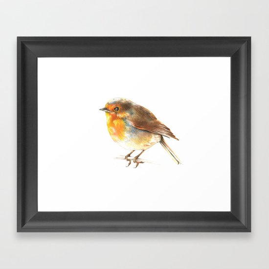 bird 2 Framed Art Print