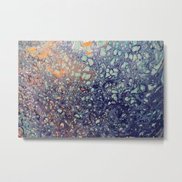 Bubbling Over Metal Print