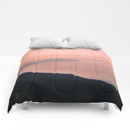 Sunset on Hai Van Pass Comforters