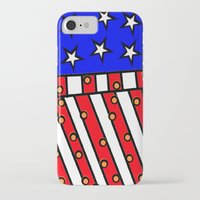 american iPhone & iPod Cases featuring American by Mariana