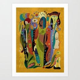 Solstice Queens Art Print