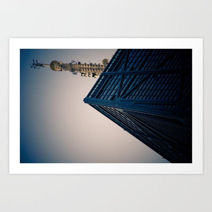 Hancock Tower, Chicago Art Print