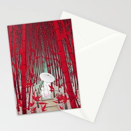Yuki- onna Stationery Cards