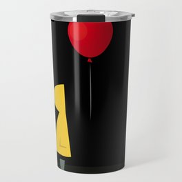 Red Balloon for 1 Penny Travel Mug