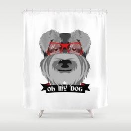 Oh My Dog Shower Curtain