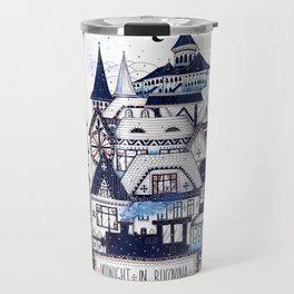 Midnight in Bucovina Travel Mug