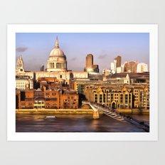 London In Art Art Print