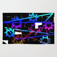 broken Area & Throw Rugs featuring  Broken by LoRo  Art & Pictures