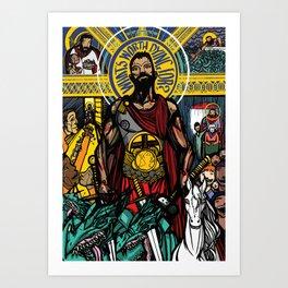 Revelation 5 Art Print