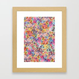 Prairie Wildflowers Framed Art Print