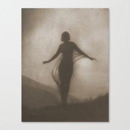 Anne Brigman Photograph - The Breeze, 1910 Canvas Print