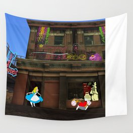 Alice in Crackland Wall Tapestry