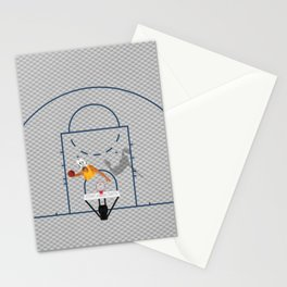 Dunkers | Basketball Court  Stationery Cards