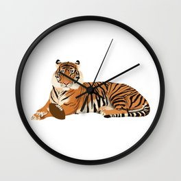 Football Tiger Wall Clock