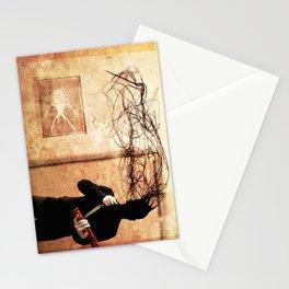 troll. 4 Stationery Cards