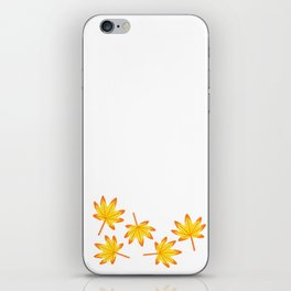 Japanese Maple Leaves iPhone Skin