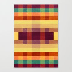 Autumn Winds Abstract  Canvas Print