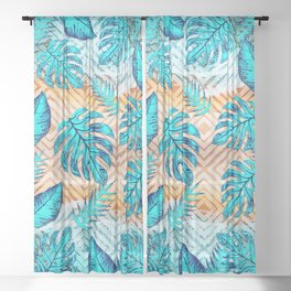 Tropical XII Sheer Curtain