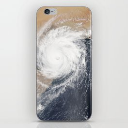 Tropical Cyclone Chapala Over the Gulf of Aden iPhone Skin