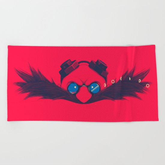 Dr. Robotnik & Sonic Beach Towel