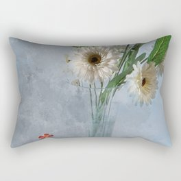 Wildflower Still LIFE Rectangular Pillow