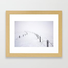 Snow 1.7 Framed Art Print