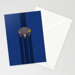 N64 PAD Black Stationery Cards