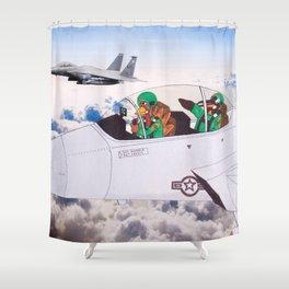 Flightless Birds Shower Curtain