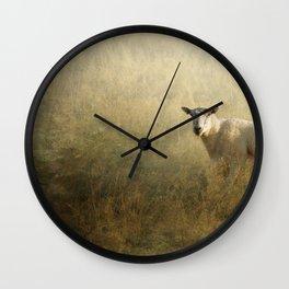 Good morning Ewe Wall Clock
