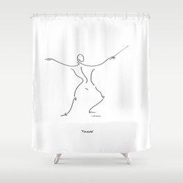 Touche Shower Curtain