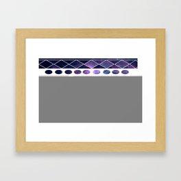 keep smiling Framed Art Print