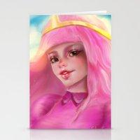 princess bubblegum Stationery Cards featuring Princess Bubblegum by ChrySsV