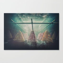 Yung Shue Tau Temple Canvas Print