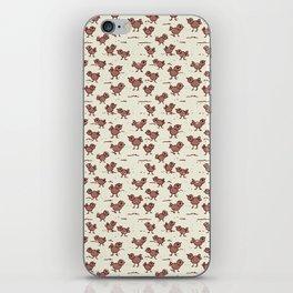 A Cranky Flock iPhone Skin
