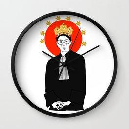 Queens Series: Ruth! Wall Clock