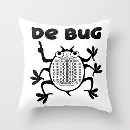 Computer Programmer's Nemesis Throw Pillow