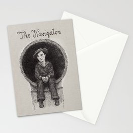 The Navigator Buster Keaton Stationery Cards